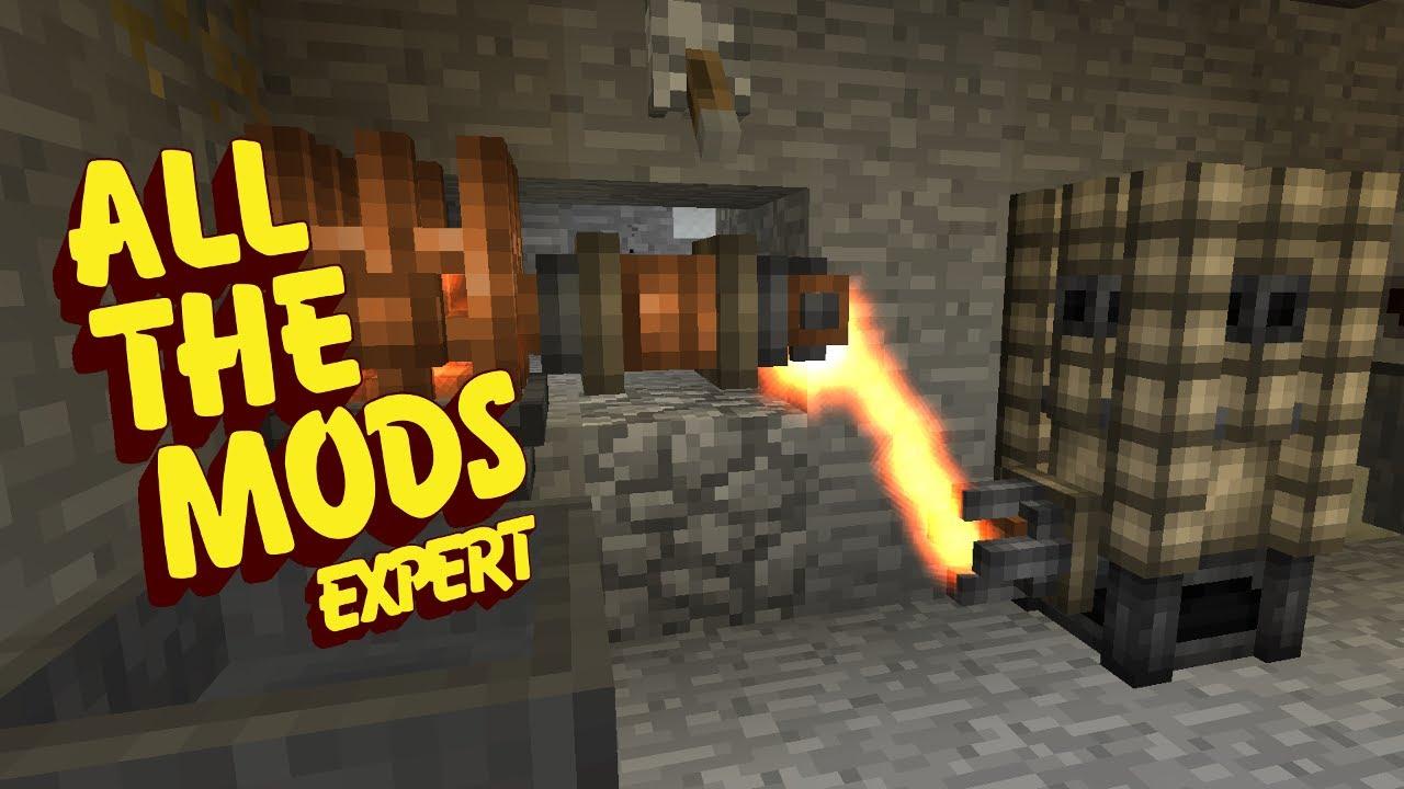 All The Mods Expert Mode - EMBER BORE [E05] (Minecraft Expert Mod Pack)