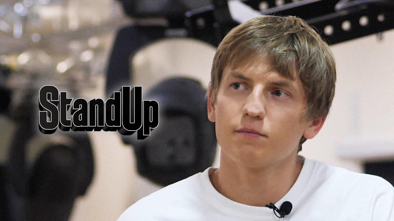 Алексей Щербаков и пара вопросов для StandUp на ТНТ