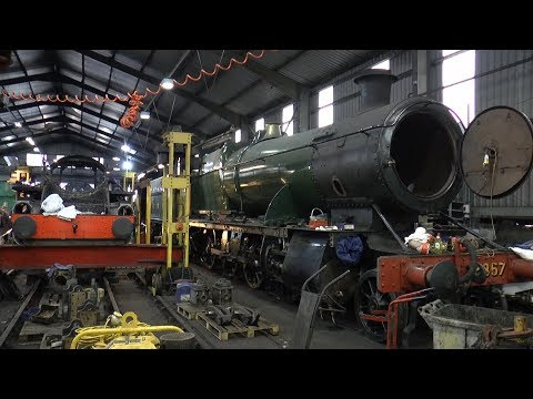 A 2018 LOOK BEHIND THE SCENES OF THE SEVERN VALLEY RAILWAY OPEN HOUSE