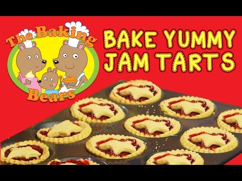 How To Make Yummy Jam Tarts | Episode 2 | The Baking Bears