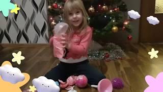 Розпакування чудових іграшок. Новий Кулька 5 Сюрпризів! Розпакування! 5 surprise ball