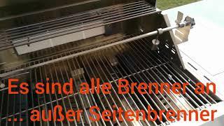 Mayer Barbecue Grill MGG-342 400 °C Edelstahlgrill Zunda
