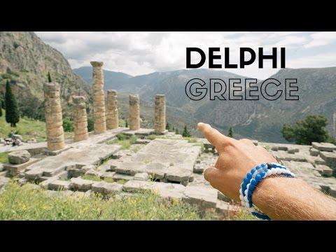 SANCTUARY OF APOLLO IN DELPHI, GREECE