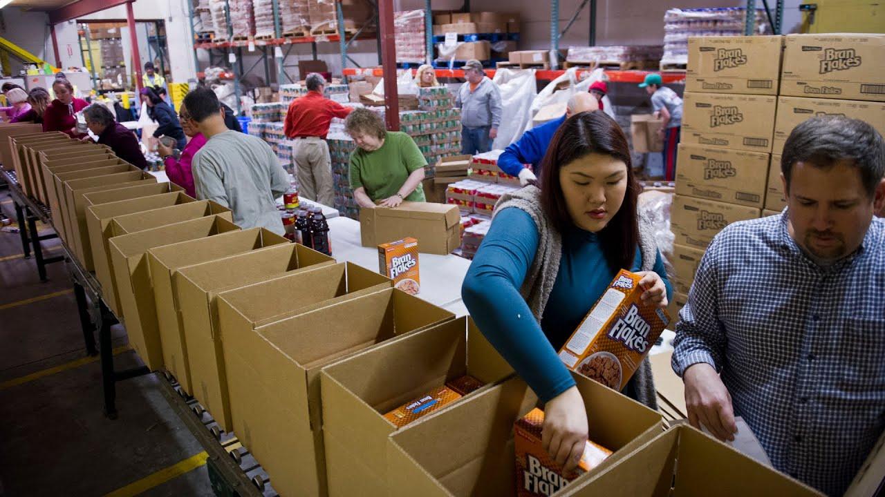 Volunteer spirit in full swing at Food Bank of Alaska YouTube