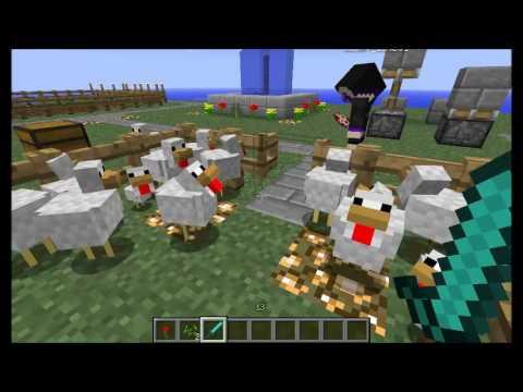 Minecraft tuto enclos poule youtube - Enclos a poule ...