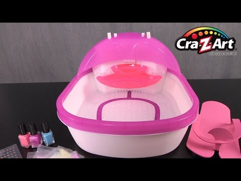 Shimmer N Sparkle The Real 5 In 1 Super Spa Salon From Cra Z Art Youtube