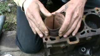 Расточка цилиндра двигателя дома