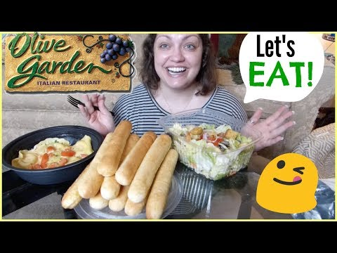 Olive Garden | MUKBANG (Eating Show)