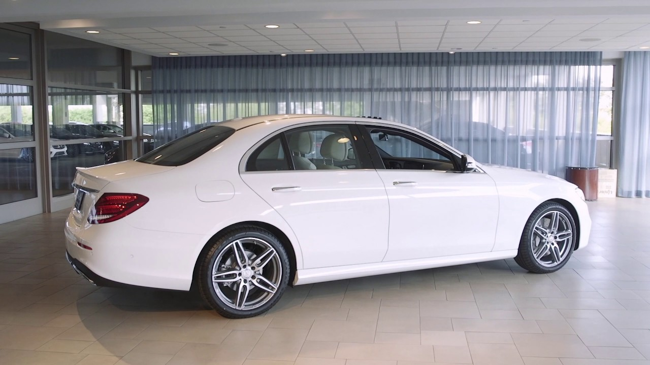 2017 mercedes benz e class review park place motorcars for Mercedes benz park place