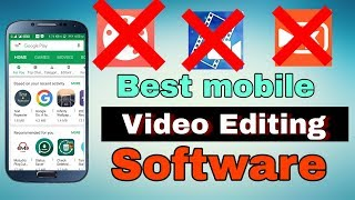 Best video Editing software for    android    in Tamil