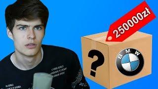 MYSTERY BOX ZA 250.000ZŁ! DOSTAŁEM SAMOCHÓD