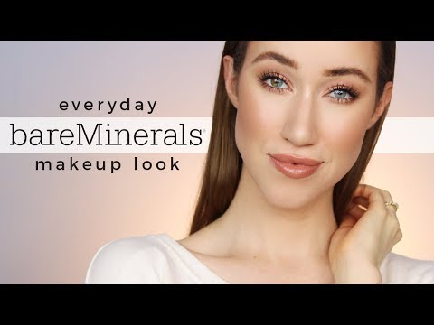Everyday BareMinerals One Brand Makeup Tutorial 💕