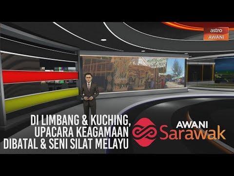 AWANI Sarawak [14/03/2020] - Di Limbang & Kuching, upacara keagamaan dibatal & seni silat Melayu