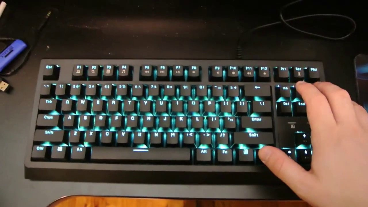 c102ef72fa9 Velocifire TKL01 Review: The $30 Mechanical Keyboard - YouTube