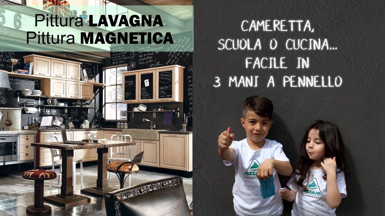Pareti Lavagna Magnetica : Pittura lavagna magnetica youtube