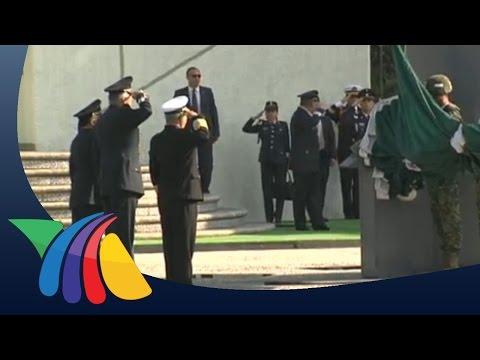 Izamiento de bandera en Campo Marte | Noticias