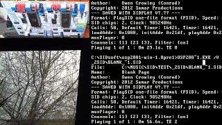 Тест ПО для DuoSID/SSI-2001 (№2) [Запись]
