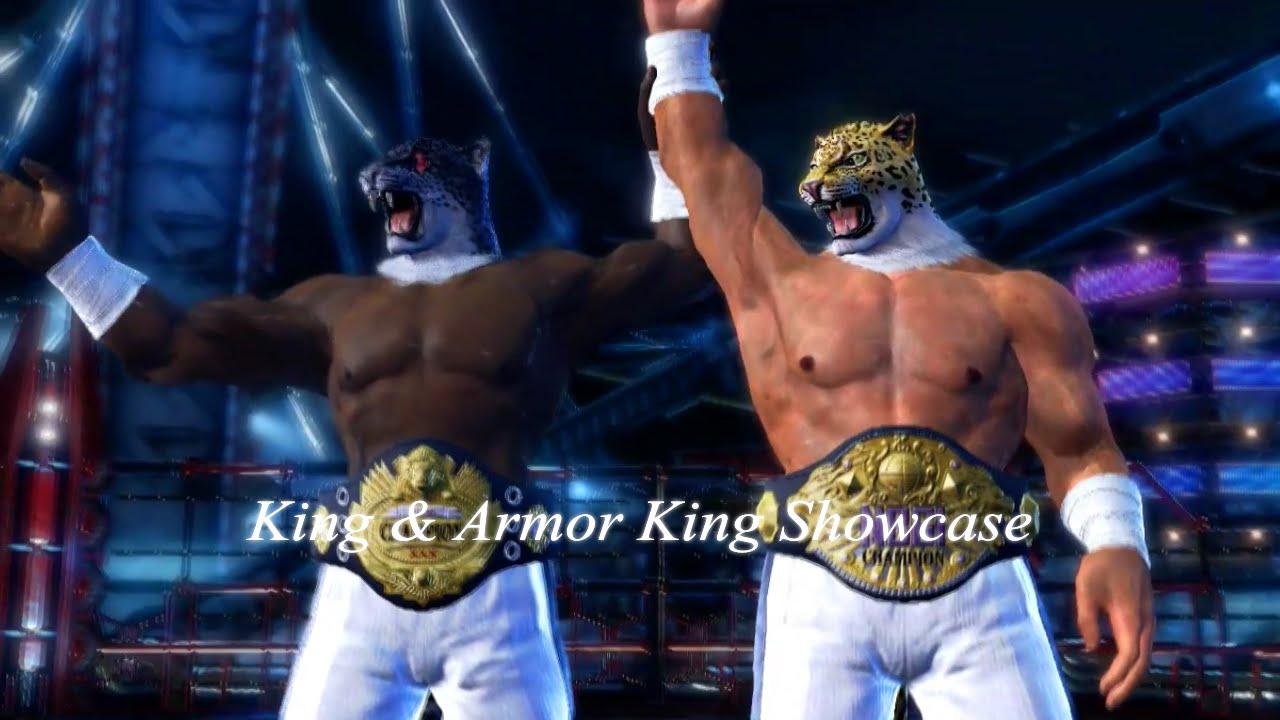 Tekken King Armor King Showcase Youtube