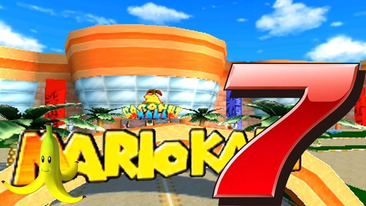 wii coconut mall mario kart 7 track in depth guide and analysis youtube. Black Bedroom Furniture Sets. Home Design Ideas