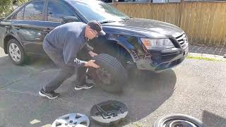 How to change a tire.
