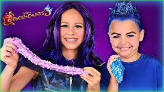 Disney Descendants 3 Mal and Hades Make Slime