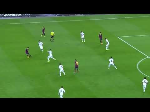 Xavi Vs Real Madrid (26.10.13)