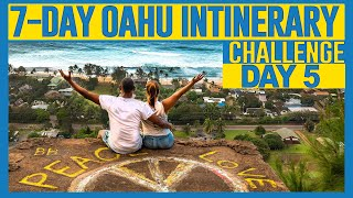 Hiking, Dole Plantation, Beaches in Oahu Hawaii (Day 5 Of 7-day itinerary challenge)