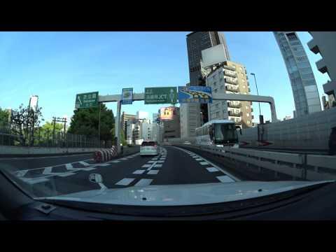 Tokyo expressway drive 4K 2016