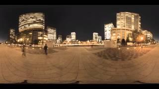 360°VR タイムラプス 東京 - Tokyo 360° Timelapse Movie