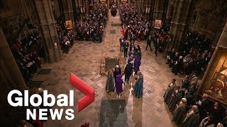 Queen, royal family  attend Remembrance ceremony at Westminster Abbey