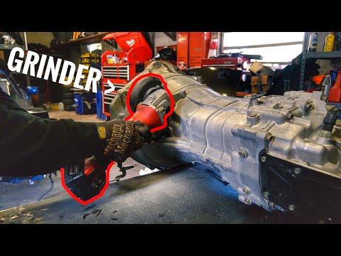 CUTTING OPEN MY NEW TRANSMISSION!?