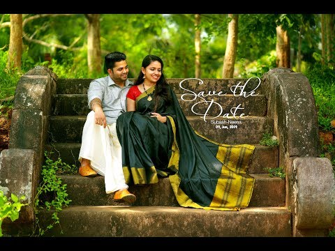 Kerala Traditional Save The Date Video|Subash-Neena|From Crystalline Studio