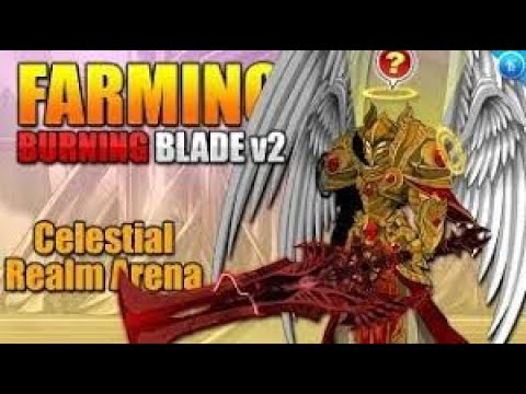 Burning Blade V2 Farming! (30%+ Damage) Light Caster CLASS Returns! AQW AdventureQuest Worlds