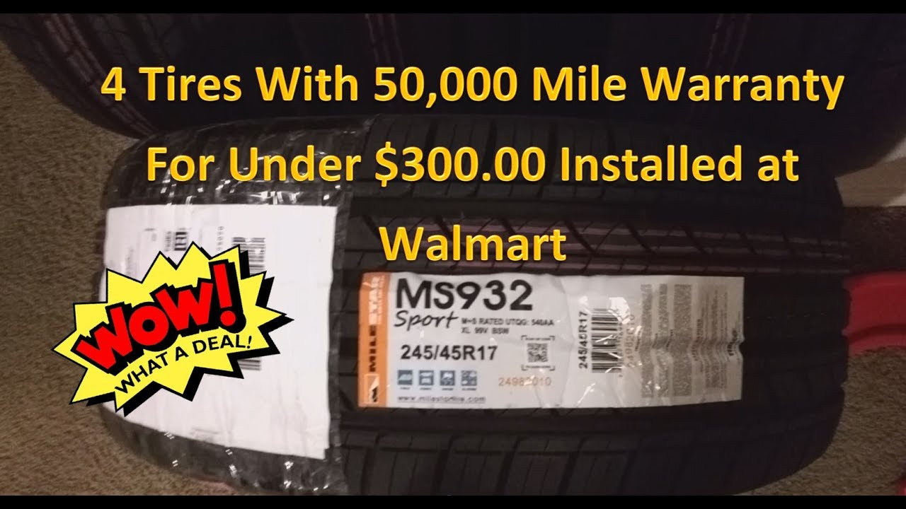 Tire Review Ms932 Sport Under 300 00 Installed From Walmart