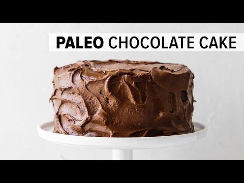 AMAZING PALEO CHOCOLATE CAKE | Gluten-free, Grain-free, Dairy-free
