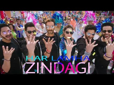 Har Lamha Zindagi : Golmaal Again Songs | Ajay Devgn, Parineeti Chopra | Golmaal 4 Songs