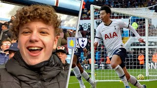 Aston Villa 2-3 Tottenham! Away Premier League Match Day Vlog! Son Heung Min 손흥민 scores winning goal