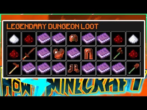 OUR LEGENDARY LOOT (30+ NEW BOOKS) - How To Minecraft S4 #95