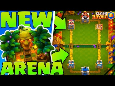 'NEW' JUNGLE ARENA 9 GAMEPLAY - Clash Royale