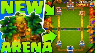new jungle arena 9 gameplay clash royale