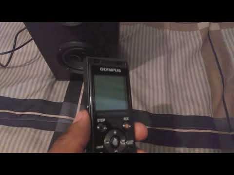 The Olympus Digital Voice Recorder WS-853 Audio German + Test
