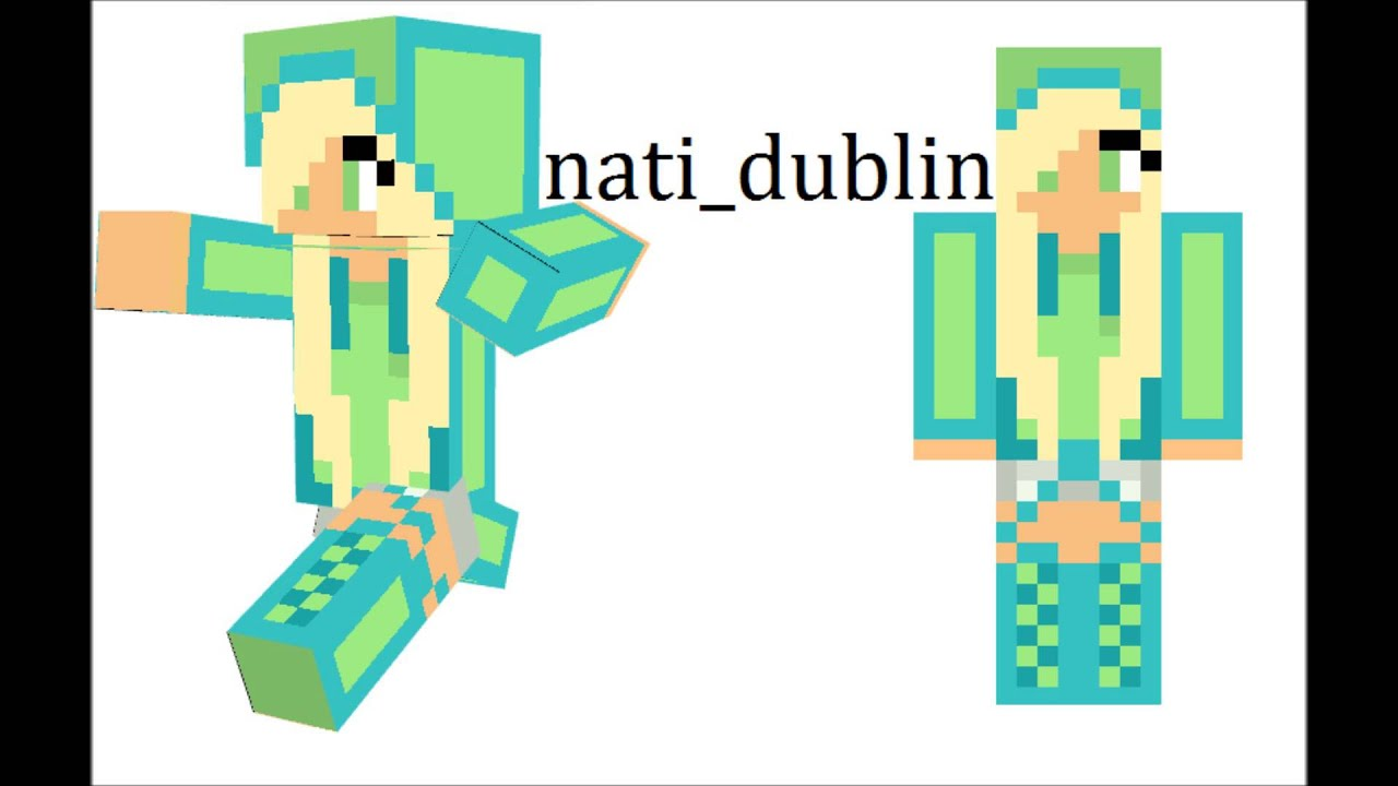 Minecraft Skin Names For GIRLS YouTube - Coole minecraft skins fur madchen