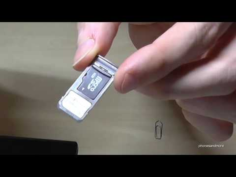Samsung Galaxy Note 8: How to insert the microSD card? Installation of the micro SD