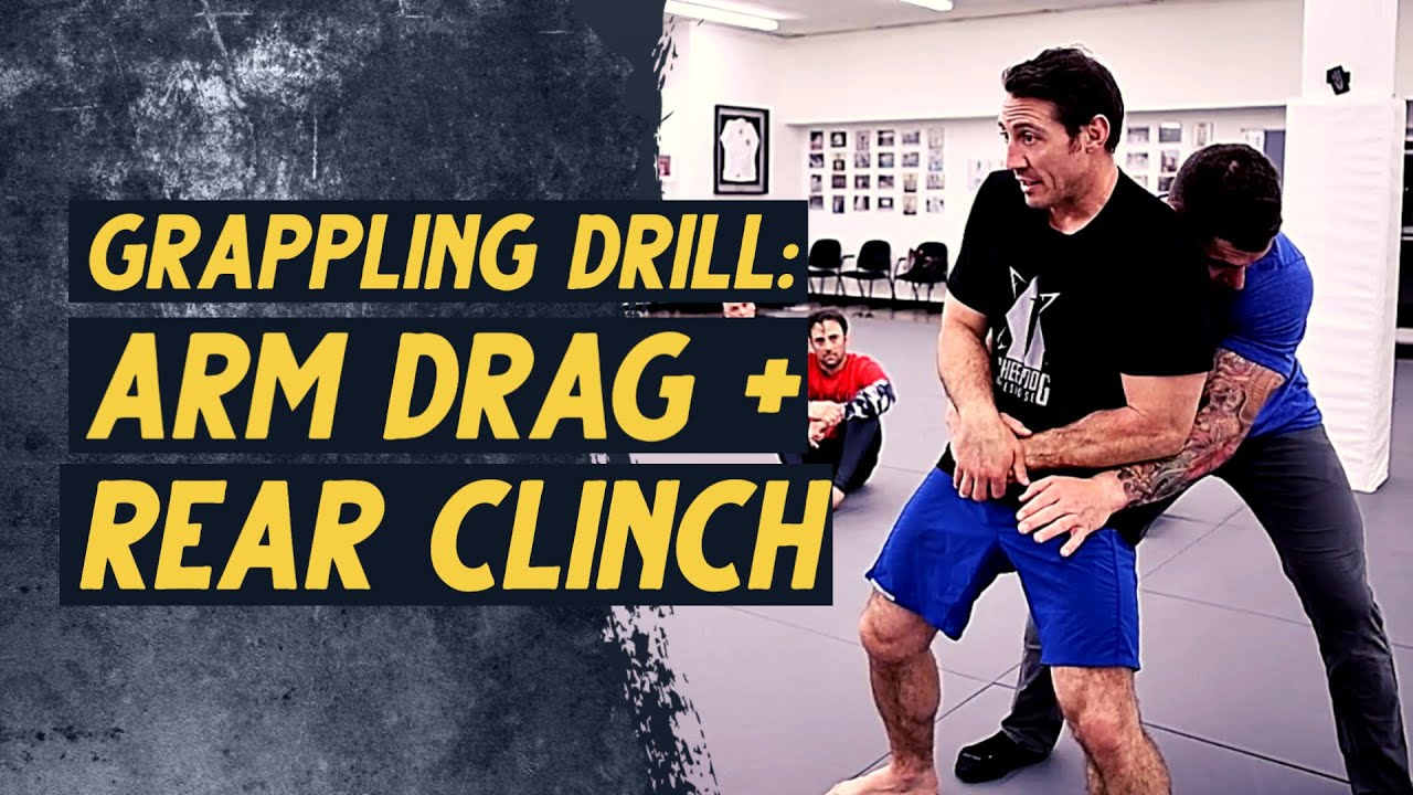 Arm Drag + Rear Clench Drill | Sheepdog Response