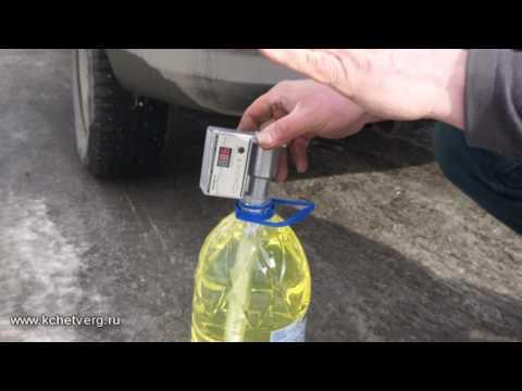 Проверка бензина на АЗС в Качканаре
