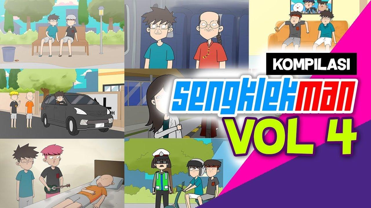 KUMPULAN KARTUN LUCU SENGKLEKMAN VOL 1 by Sengklekman