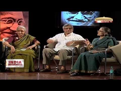 India Interacts - Relevance of Gandhi in today's India