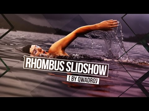 Rhombus Slideshow   After Effects template