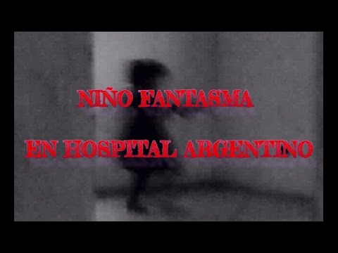 NIÑO FANTASMA CAPTADO EN HOSPITAL DE ARGENTINA