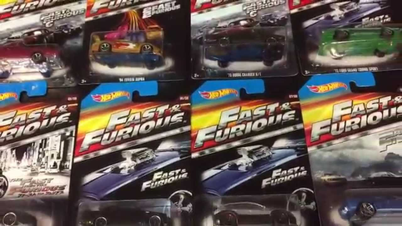 2015 Buick Grand National >> 2015 The Fast and Furious Hot Wheels 8-car set Exclusively from Walmart - YouTube